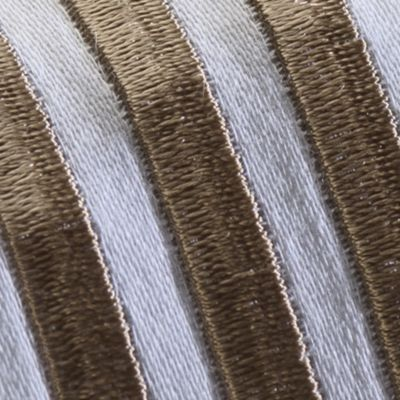 Bed & Bath: Up To 399tc Sale: Taupe Westport HOTEL EMBROIDERY SHEET SET