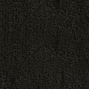 Christy More For The Home: Black Christy Small Bath Rug 17-in. x 24-in.