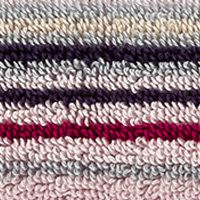 Multi Decorative Bath Towels: Stripe Berry Christy Supreme Stripe Washcloth 13-in.x 13-in.