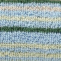 Multi Decorative Bath Towels: Stripe Blue Christy Supreme Stripe Washcloth 13-in.x 13-in.