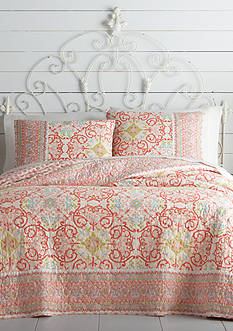 Jessica Simpson Alila Lila King Quilt