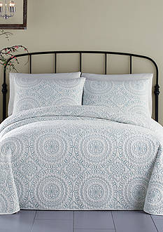Jessica Simpson MEDALLION T COVERLET- TURQUOISE