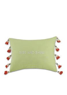 Jessica Simpson Watercolor Garden Rise And Shine Decorative Pillow