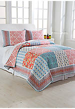 Indian Sunrise King Quilt 104-in. x 90-in.