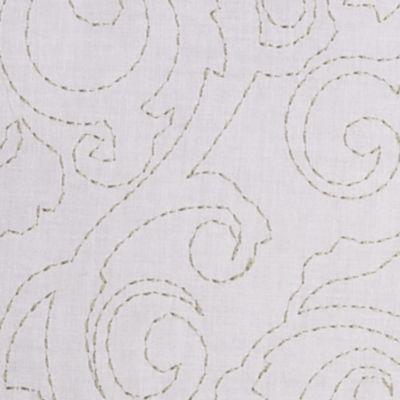 Modern Bedding: White Jessica Simpson JS LILIANE DEC #1
