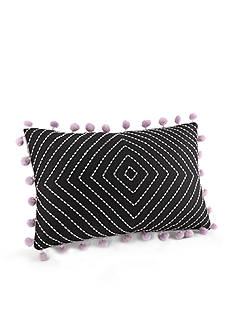 Jessica Simpson Asana Embroidered Decorative Pillow