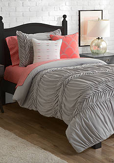New Directions AVA TWIN/TXL SET GRAY