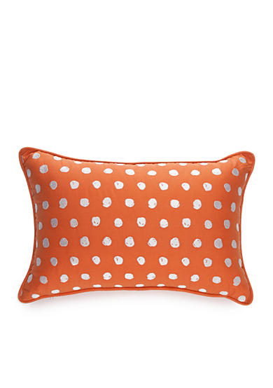 New Directions® Wyatt Embroidered Scribble Dot Decorative Pillow