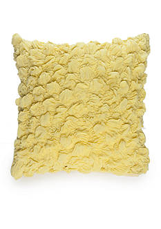 New Directions® Logan Square Chartreuse Textured Decorative Pillow