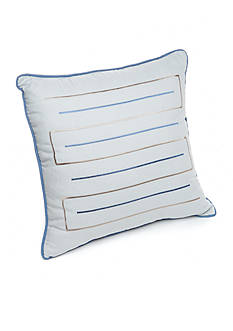New Directions Vince Linear Embroidered Decorative Pillow