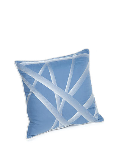 New Directions® Vince Crisscross Embroidered Decorative Pillow