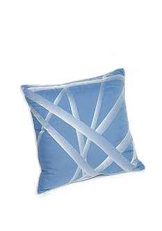 New Directions Vince Crisscross Embroidered Decorative Pillow