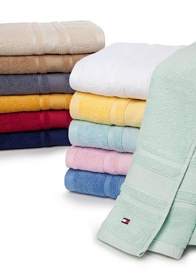 Tommy Hilfiger Signature Bath Towel Collection