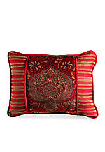 Lorenza Rustic Coll Printed Pillow 16-in. x 21-in.