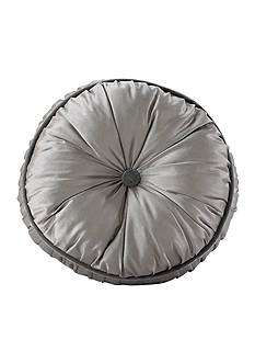 HiEnd Accents Kerrington Buttoned Round Pillow