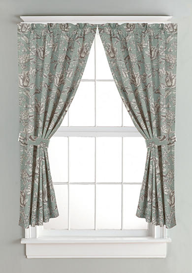HiEnd Accents Gramercy Floral Curtain