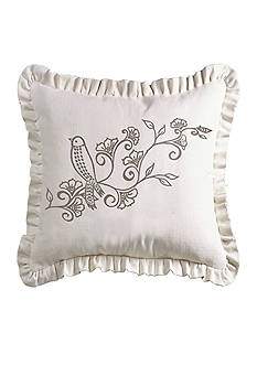 HiEnd Accents Gramercy Ruffled Pillow