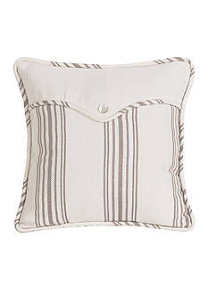 HiEnd Accents Prescott Stripe Square Pillow