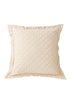 HiEnd Accents Diamond Quilted Euro Sham