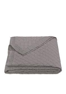 HiEnd Accents Diamond Linen Quilt