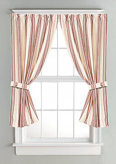 HiEnd Accents Striped Curtain