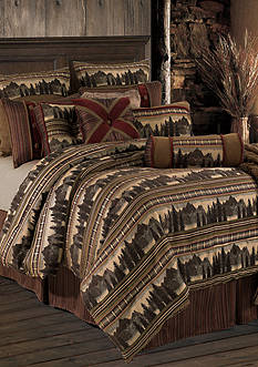 HiEnd Accents BRIARCLIFF FULL COMFORTER SET DS