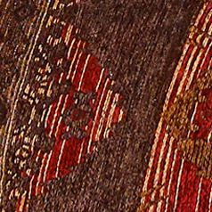 Red Bedding: Brown HiEnd Accents SIERRA FULL CSET