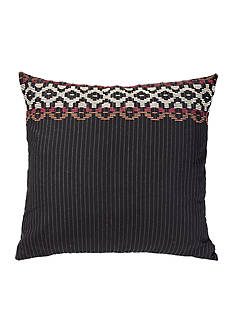 HiEnd Accents Embroidered Pinstripe Euro Sham