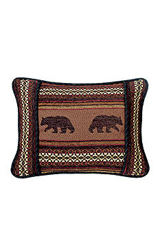 HiEnd Accents Bayfield Oblong Bear Pillow