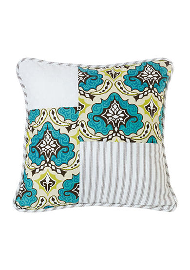 HiEnd Accents Patchwork Pillow