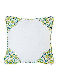 HiEnd Accents Scalloped Edges Pillow