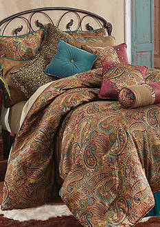 HiEnd Accents SAN ANGELO FULL CSET PAISLEY JACQUARD