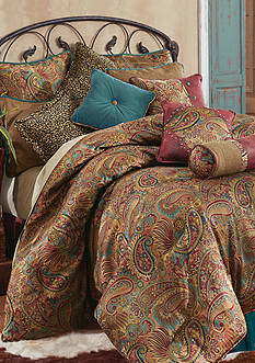 HiEnd Accents SAN ANGELO KING CSET PAISLEY JACQUARD