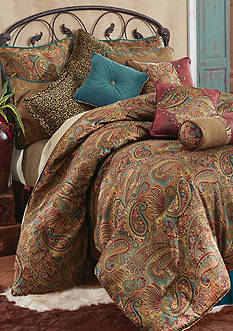 HiEnd Accents SAN ANGELO TWIN CSET PAISLEY JACQUARD