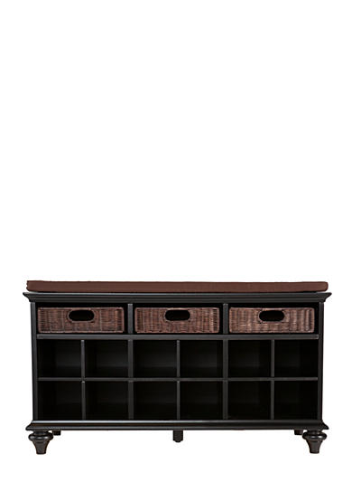 Southern Enterprises Carrey Entryway Bench - Black
