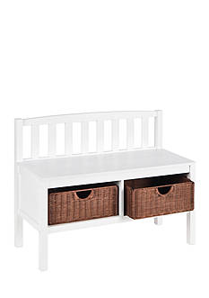 Southern Enterprises Rothbery Bench-White