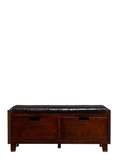 Southern Enterprises Flemming 2-Drawer Bench