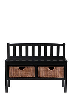 Southern Enterprises Rothbery Bench Black