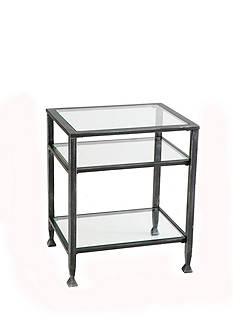 Southern Enterprises Custer Metal End Table