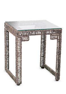 Southern Enterprises Akola Woven End Table
