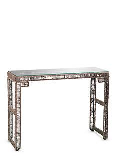 Southern Enterprises Akola Woven Console Table