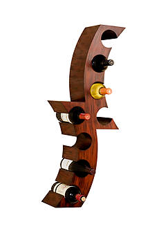 Southern Enterprises Lodi Wall-Mount Wine Rack