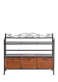 Southern Enterprises Rexford Bakers Rack