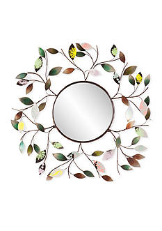 Southern Enterprises Camara Leaf Wall Mirror