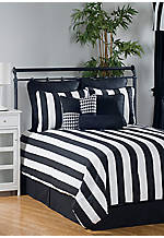 City Stripe Queen Comforter Set 92-in. x 96-in.