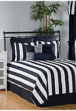 City Stripe California King Comforter Set 96-in. x 110-in.