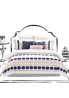kate spade new york Ikat Dot Twin XL Comforter Set
