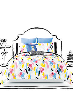 kate spade new york® Paintball Floral Comforter Set