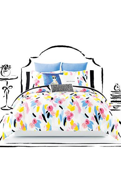 Kate Spade New York Paintball Floral Twin Xl Comforter Set