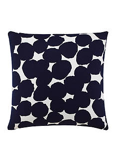 kate spade new york Random Dot Navy Decorative Pillow
